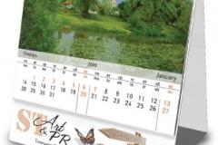 Календарь-домик с отрывными блоками