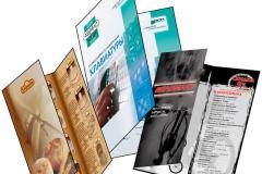 Брошюры и каталоги