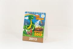 Календарь-домик с перекидными блоками