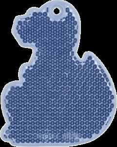 ДИНО синий - световозвращающая подвеска
