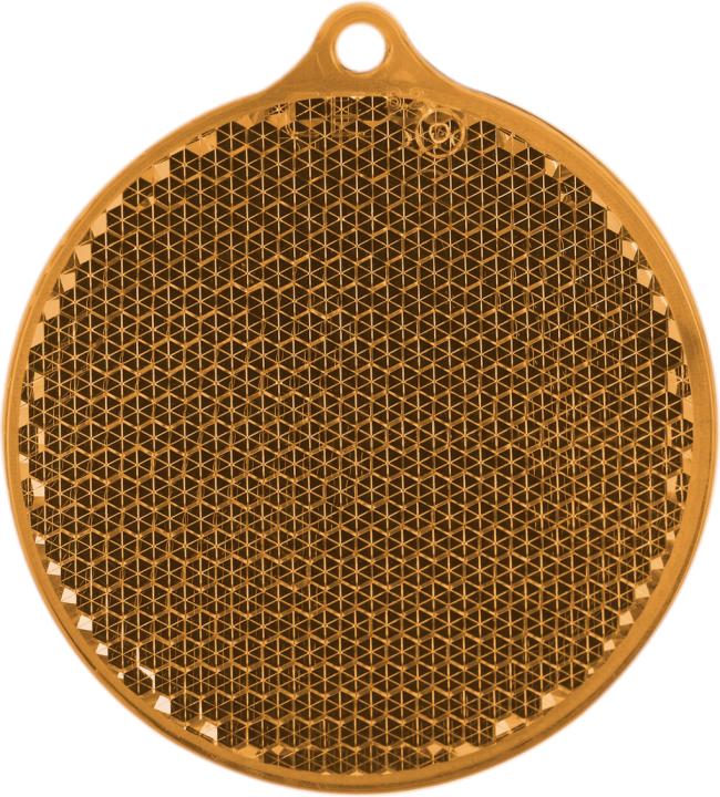 КРУГ золотой- световозвращающая подвеска