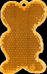 МЫШЬ оранжевая - световозвращающая подвеска