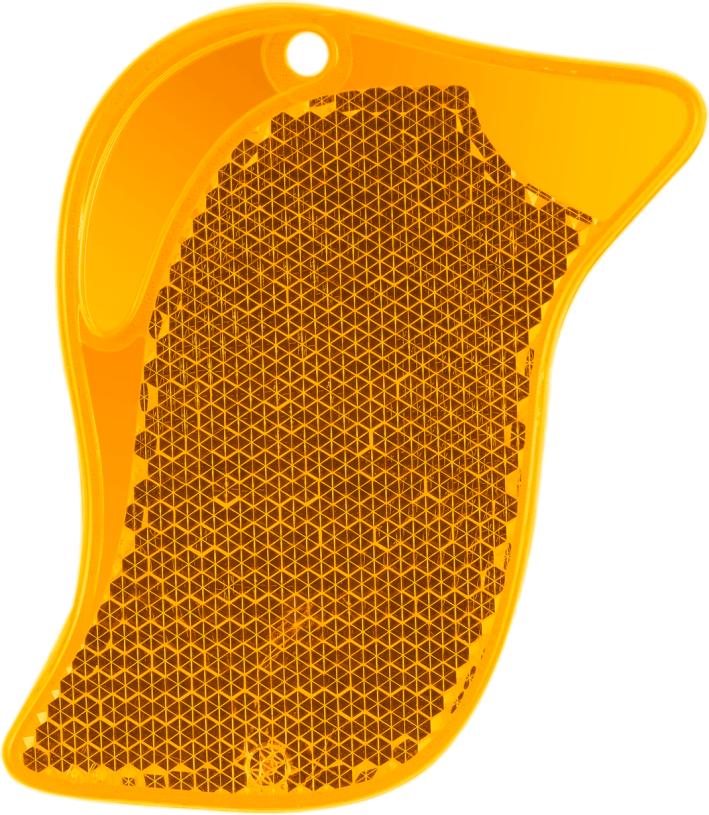 ПТИЦА оранжевая - световозвращающая подвеска